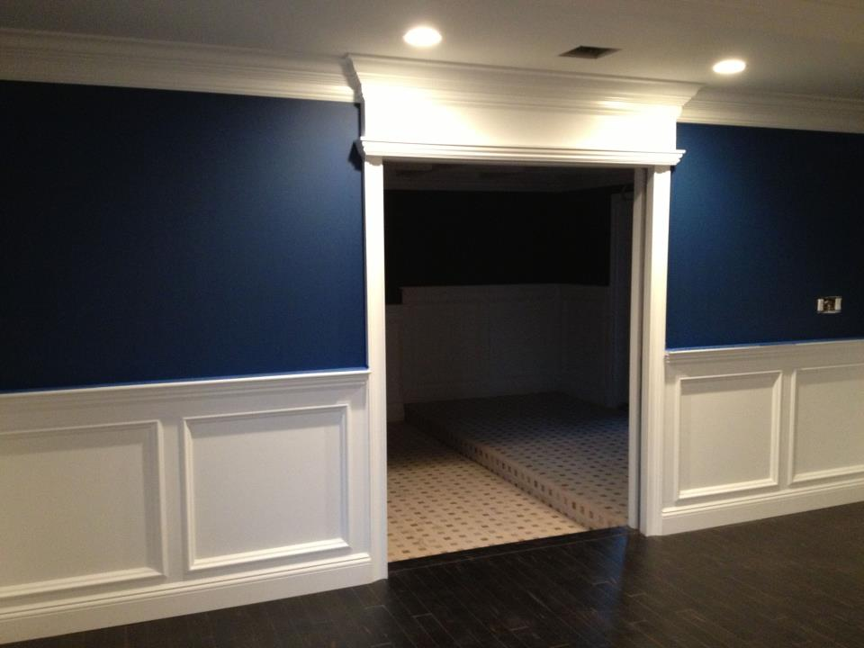 interior trim remodeling for home