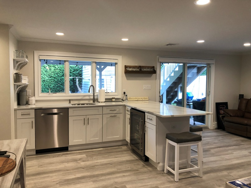 basement remodeling services add a kitchen to your basement
