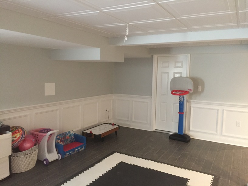remodel your basement and turn it into a playroom