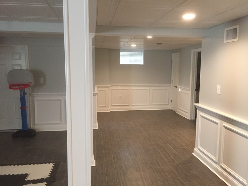 turn your basement into a playroom with our basement remodeling services